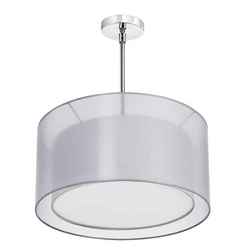 Dainolite 3 Light Satin (Dainolite Lighting MEL228-814-790-SC Dainolite Lighting Melissa 3 Light Chandeliers, Satin Chrome)