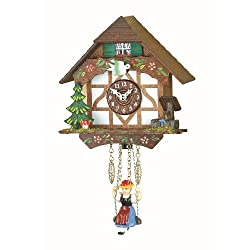 Trenkle Kuckulino Black Forest Clock Black Forest House with quartz movement and cuckoo chime TU 2006 SQ