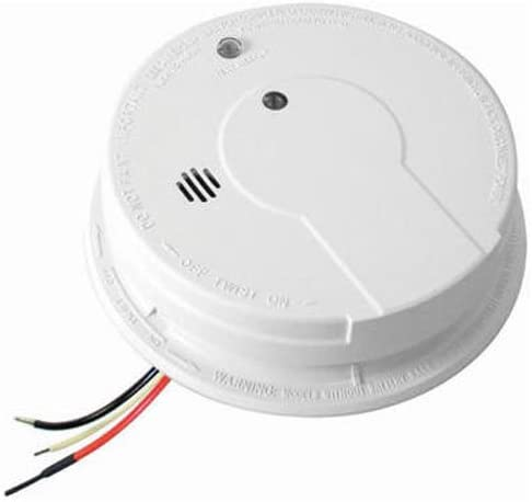 Kidde Hardwire Smoke Alarm with Hush Feature and Battery Backup, Contractor Pack, 6-Pack