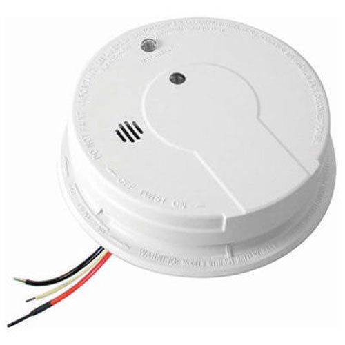 Kidde Hardwire Smoke Alarm with Hush Feature and Battery Backup, Contractor Pack, 6-Pack by Kidde