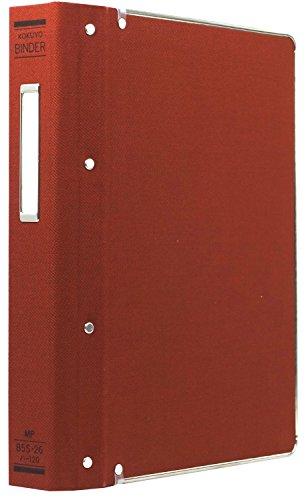 Red B5 Tatefuchi gold with 200 single-wafer-120RZ paste Kokuyo color binder MP cloth (japan import) (Mp Paste)