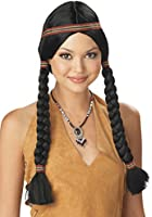 California Costumes Women's Indian Maiden Wig