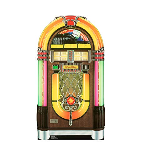 - Advanced Graphics Wurlitzer Jukebox Life Size Cardboard Cutout Standup
