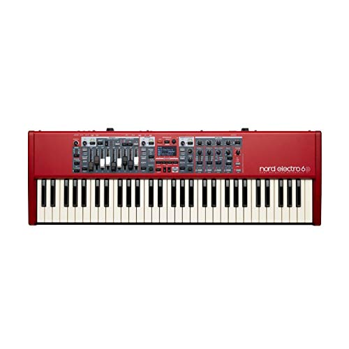 Nord Electro 6D 61 Stage Piano, 61-Note Semi-Weighted Waterfall ()