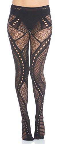 Foot Traffic Samba Textured Tights (Tights Textured Cotton)