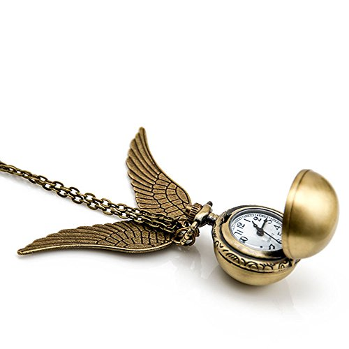 flying-ball-necklace-vintage-retro-angel-wing-necklace-steampunk-pocket-watch-with-gift-box