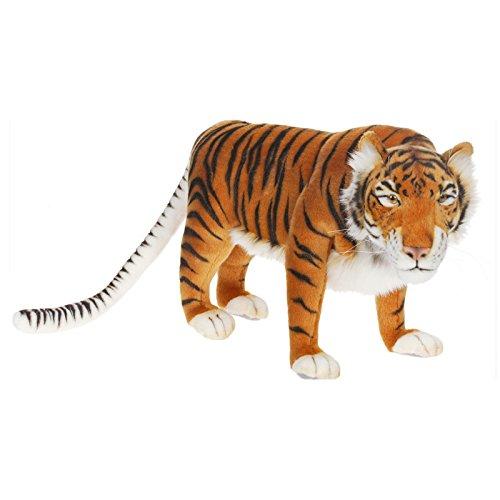(Hansa Caspian Tiger Stuffed Plush Animal. )