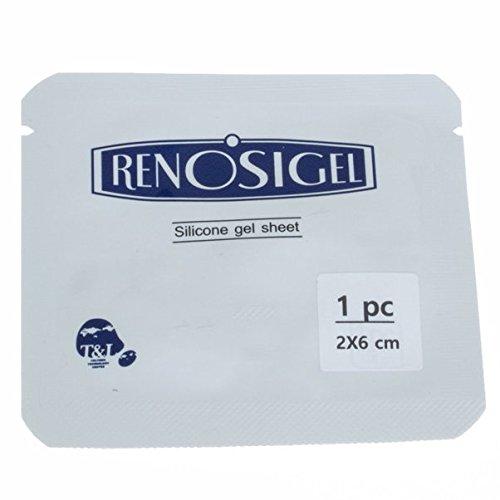 [레노시겔] RenoSi-Gel Narbengel Pad   Silikon Gel   Narbenfolie   verschiedene Größen (2 x 6 cm) [제왕절개 레노시겔]