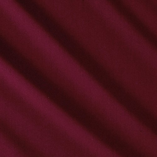 Suiting Weave (TELIO Double Weave Stretch Suiting Fabric by the Yard, Bordeaux)
