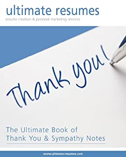 the ultimate book of thank you and sympathy