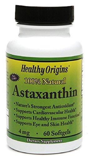 Healthy Origins Astaxanthin - 4 mg - 60 Softgels by Healthy Origins
