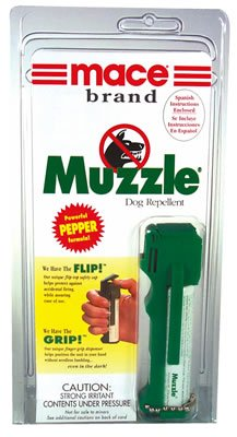Mace Brand Muzzle Canine Repellent w/keychain 14 grams