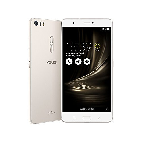 ASUS ZenFone 3 Ultra ZU680KL 4GB / 64GB 6.8-Inch 4G LTE Dual SIM FACTORY UNLOCKED - International Stock No Warranty (SILVER)