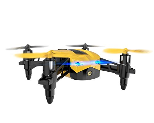 Holy Stone HS150 Bolt Bee Mini Racing Drone RC Quadcopter RTF 2.4GHz 6-Axis Gyro with 50KMH High Speed Headless Mode Wind Resistance Includes Bonus Battery