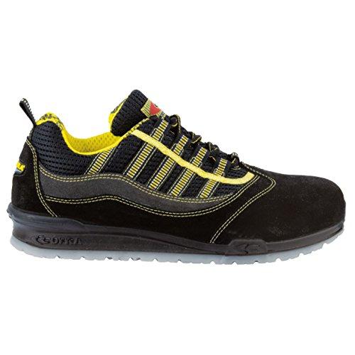 """Cofra 78420–000.w47taglia 47S1P SRC """"Marciano Scarpe di sicurezza, colore: nero/giallo"""
