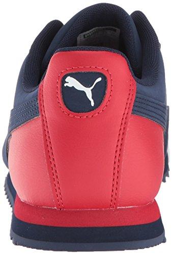 PUMA Men's Roma Basic Sneaker, Peacoat-Ribbon Red White, 9.5 M US by PUMA (Image #2)