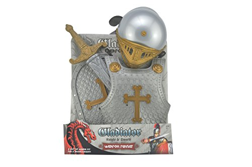 Knight Suits For Kids Ancient Roman Armor Suit Knight Crusador Full Suit Of Cosplay Costume]()