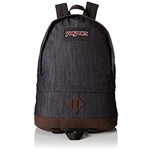 "JanSport Beatnik Backpack - Blue Denim / 17.5.5""H x 13.4""W x 5.5""D"