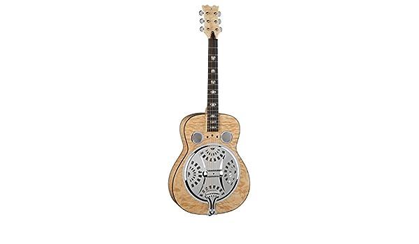 Dean papel de muestras de madera de arce guitarra RES TBK caja de ...
