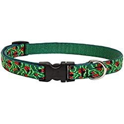 "Lupinepet Originals 3/4"" Beetlemania 13-22"" Adjustable Collar For Medium And Larger Dogs"