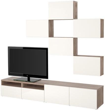 Ikea 14202.23118.226 - Mueble de TV con Puertas y cajones (Efecto ...