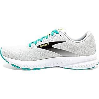 Brooks Womens Launch 7 Running Shoe – White/Nightlife/Atlantis – B – 10.5 Best Road Running Shoe 2020