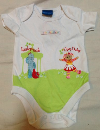 [In the Night Garden Iggle Piggle Upsy Daisy 0-3 Months Baby Boy or Girl Romper Onies Great for Halloween] (Sven Costume For Boys)