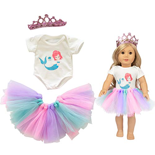 Denzar Baby Alive Doll Clothes | Doll Dresses,Cute Tutu Skirt Clothes Coat Girl Toy for 18 inch Doll Accessory Gril's Toy -