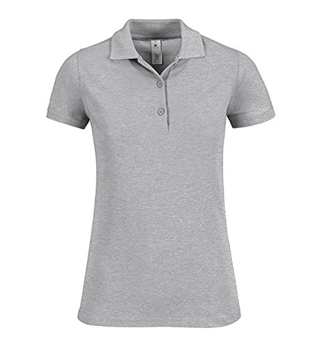 Polo Safran Timeless / Mujer Heather Grey