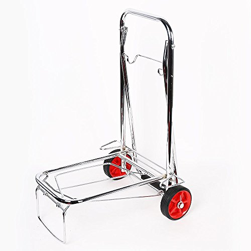 Lucky-Tree-Folding-Hand-Truck-Cart-with-Strap-for-Luggage-50-Kg110-lbs-With-Wheels
