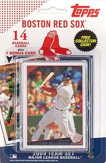Sox 2009 Team Set - MLB Boston Red Sox Licensed 2009 Topps® Team Sets