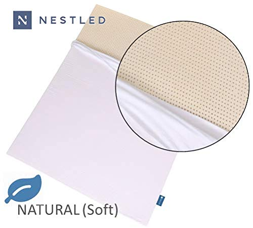 100% Natural Latex Mattress Topper - Soft Firmness - 2