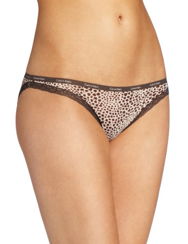 Calvin Klein Women's Bottom Up Bikini Panty Underwear, Catwalk Print, Medium