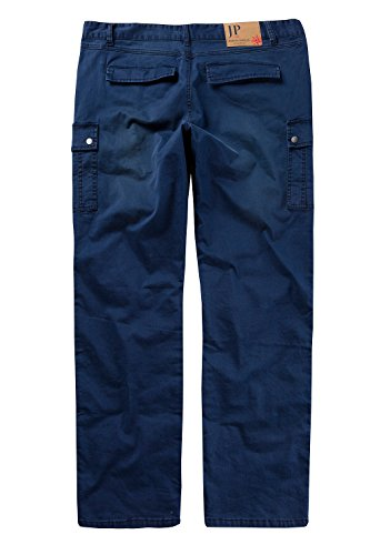 JP 1880 Homme Grandes tailles Pantalon cargo bleu marine 29 708121 70-29