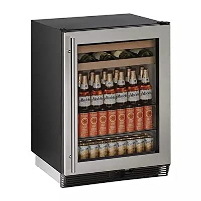 U-Line U-U-1024BEVS-00B 24 inch Built-In Wine and Beverage Center,