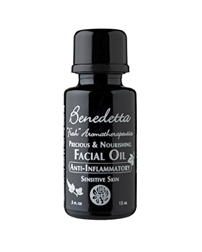 Benedetta Precious & Nourishing Facial Oil - Anti-Inflammatory, Calms Skin, Reduces Redness, Sunburn, Laser Treatment, Microdermabrasion, 0.5 oz (15 ml)
