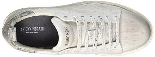Antony Morato Herren Mmfw00944-le300001 Sneaker Bianco (Bianco)