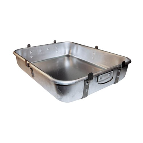 Winware Aluminum Roast Pan 18 Inch x 24 Inch x 4-1/2 Inch with Lugs Winco USA ALRP-1824L