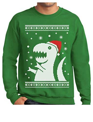 TeeStars - Big Trex Santa Ugly Christmas Sweater
