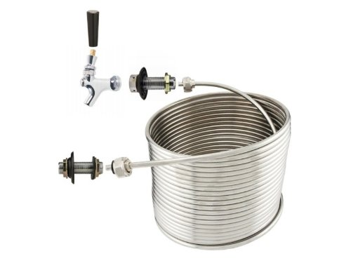 Jockey Box Stainless Steel Coil Kit - 3/8