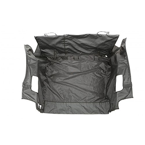 Rugged Ridge 13260.02 C3 Cargo Cover with Subwoofer for Jeep Wrangler JKU (4 Door)