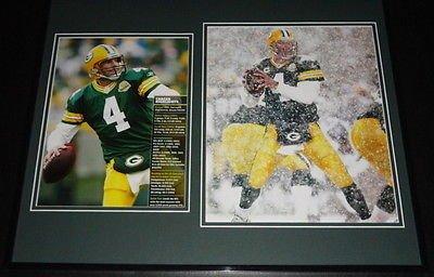 Brett Favre Framed 16x20 Photo Set Green Bay Packers