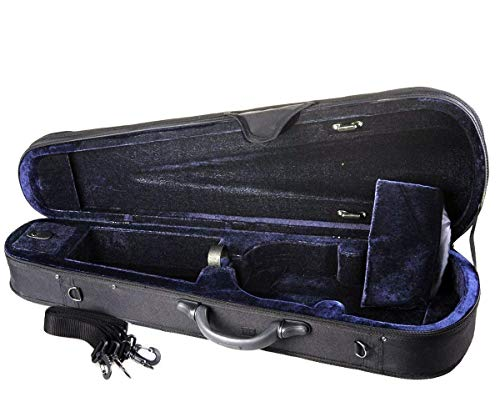 ADM 4/4 Full Size Basic Professional Triangular Shape Super Light Suspension Violin Hard Case