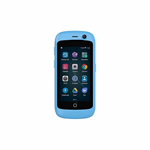 Unihertz Jelly Pro, The Smallest 4G Smartphone in The World, Android 7.0 Nougat Unlocked Smart Phone with 2GB RAM and 16GB ROM, Sky Blue (Best Cover In The World)