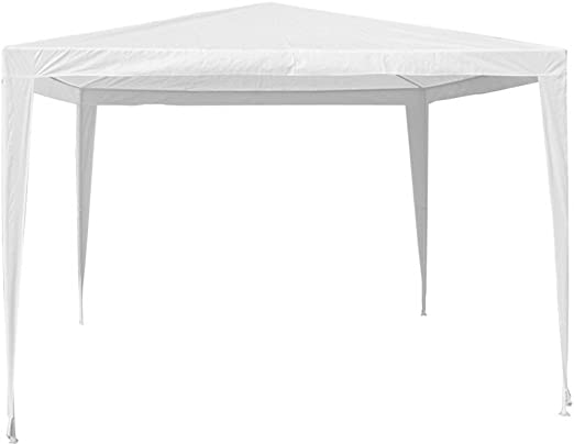 Gazebo in acciaio bianco 2x3 per arredo esterno: Amazon.es: Hogar