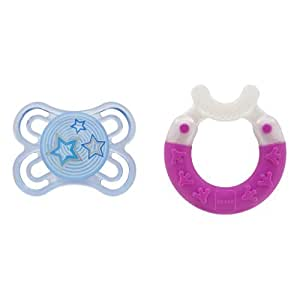 MAM Gift for Baby-Pacifier and Bite & Brush Teether