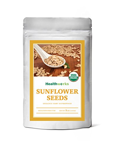Healthworks Sunflower Seeds Raw Organic Shelled, 2lb …