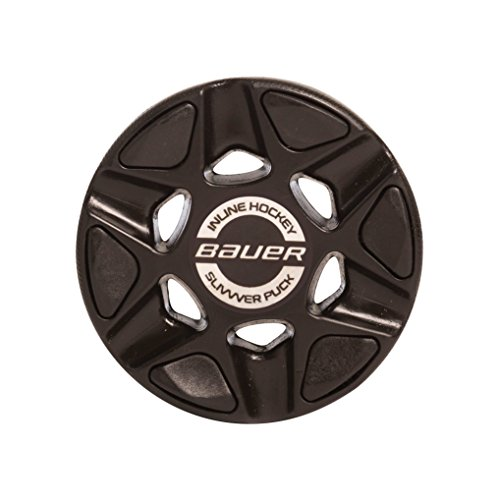 [Bauer Slivvver Roller Hockey Puck, Black] (Fuse Roller Equipment)