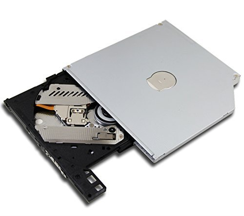 New Genuine for Lenovo Acer Laptop Super Multi 8X DVD RW DL Burner HL-DT-ST DVDRAM GUC0N 24X CD-RW Writer Internal 9mm 9.0mm Slim Tray-Loading SATA Optical Drive