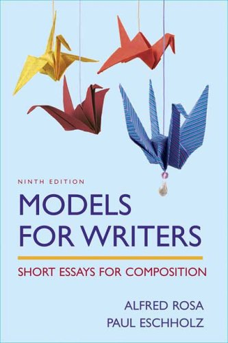 models for writers short essays for composition online